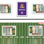 LSU Hand-Off cards played