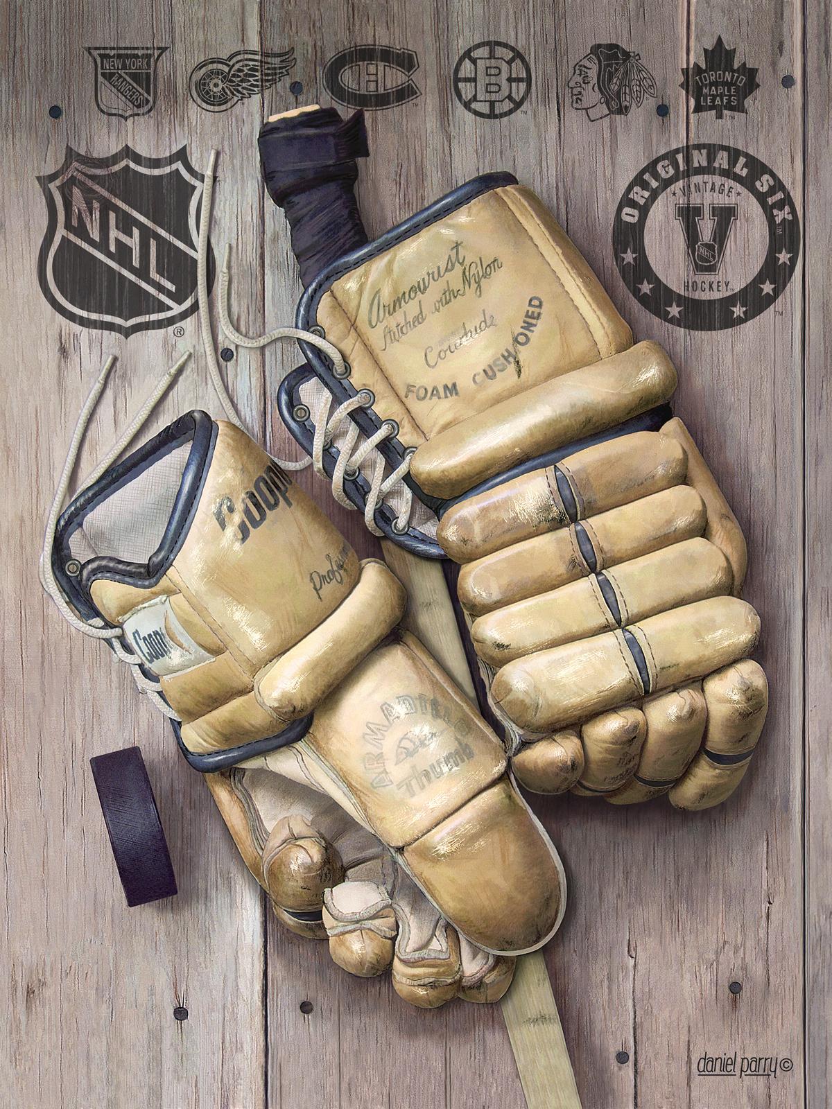 nhl vintage hockey gloves puzzle cse games carpe ludum seize the game. Black Bedroom Furniture Sets. Home Design Ideas