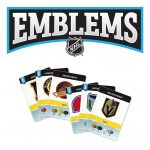 Emblems: NHL logo with cards