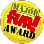 Major Fun Award seal