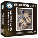 NHL Art Puzzle Gloves box